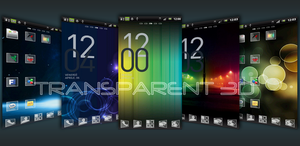 Transparent Theme Go Launcher EX by drFredish