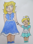 Bioshock 2 Ocs - Delilah and Matilda by AtemswildRose