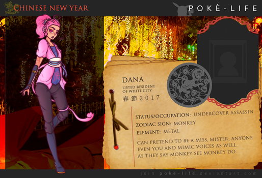 PL Chinese New Year Event Dana by Painted94