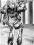 Commission: Samus Aran by ultimate-chaos12
