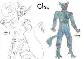 Claw - Now and Then by Myotes