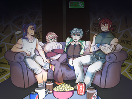 BwT: Movie Night by AyaneYeti