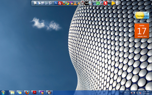 My desktop by dbeldean