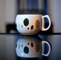 Reflection of a cup by MadGuru