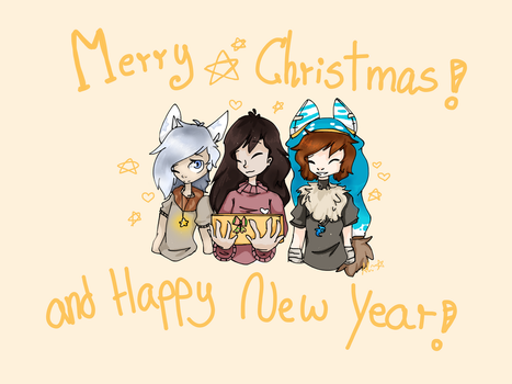 Merry Christmas and Happy new year!! by aklasha354