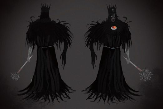 the man and the abyss king by ZombieCure