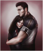 Kaidan and Sloan by CocaineJia
