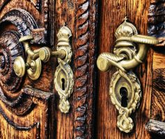 Church doorhandles by Steveewonder