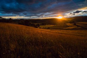 Franconian Summer Sunset by mescamesh