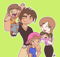 CM: Pedrosa Family by PrincessCallyie