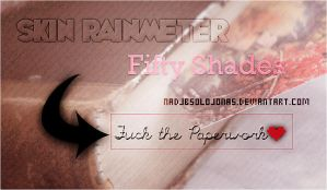 +Skin Rainmeter | Fifty Shades by FlyWMeInCharlieTango