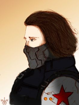 The Winter Soldier by Adelabats