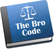 The Bro Code Icon by EvilOldGlass