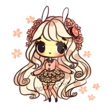 Macaron Buns Adoptable-Rose Lace (OPEN) by mochatchi
