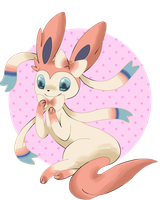 new Eeveelution - Ninfia by St3ffimon