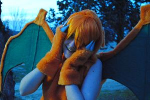 Mi cosplay de Charizard by HaruDesu88