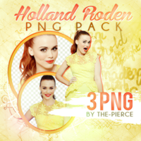 PNG Pack #010: Holland Roden by the-pierce