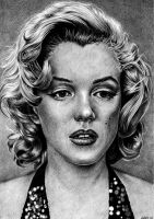 Marilyn monroe by NaimNoam