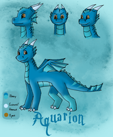 WaterDragon hatchling-ADOPTED- by Zugoldragon