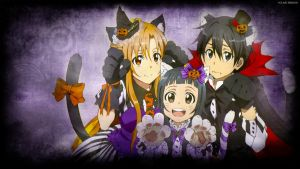 Sword Art Online Halloween by EclairDesigns