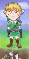 Link Wolf Link by Kanis-Major