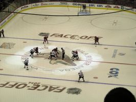 Kings-Coyotes Opening Faceoff by BigMac1212
