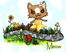 Meow the Kitten contest entry by Ainiwaffles