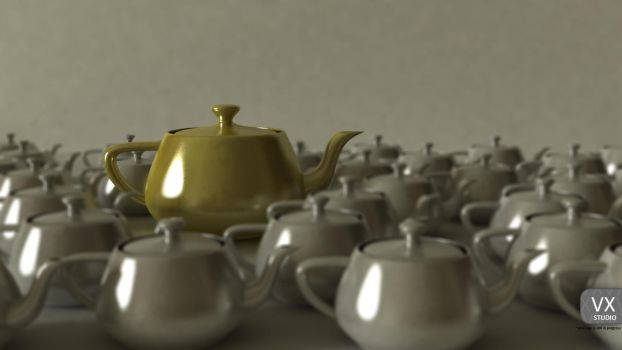 The King's Teapot by vx-design