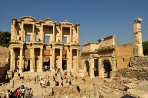 Library of Celsus 1, Ephesus by wildplaces