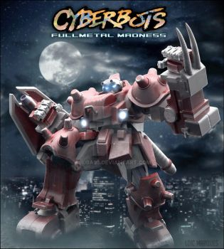 BX02 Blodia from Cyberbots by Suba93