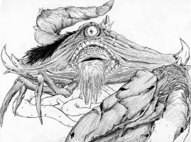Crab thing by Nghtmaresindrome