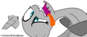 'She Fainted Because Somepony Farted!' Base by Cookies-Pony-Bases