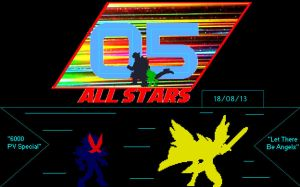05: ALL STARS - 3RD Sprite Silhouettes by GIGAN05