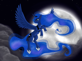 Princess Luna by PoniMichla