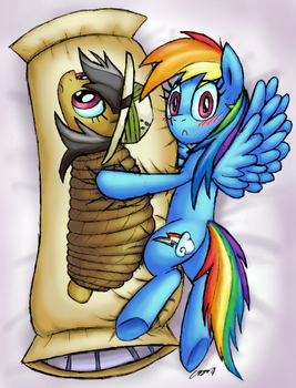 Daring Do and the Deadly Danger Daki by Cazra