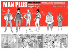 MAN PLUS team poster by erdna1