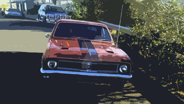 Classic Aussie Muscle - 1969 HT GTS by flyingscotsman447220