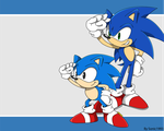 Remake of Sonic channel wallapaper 1 by sonic1993