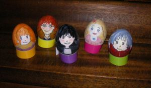 Honey and Clover Eggs by TheQuietWriter