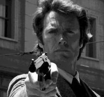 Dirty Harry Clint Eastwoodop Paint By Number Kit by numberedart