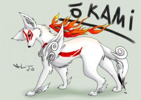 Okami by Cattensu