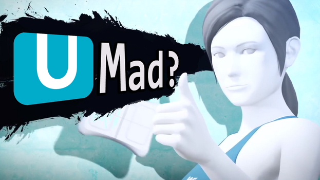 U MAD? - Wii Fit Trainer Wallpaper by br3compactor