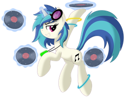 Vinyl Scratch - Let's Get it Started!!! by MysteriousKaos