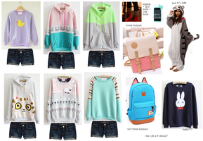 Clothes I want!! by foxtribe