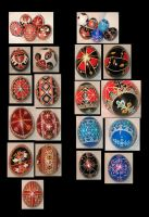 Pysanky Collection by AltairKaosu