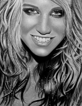 KESHA by AngelasPortraits