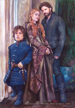 House Lannister - Game of Thrones by AuroraWienhold