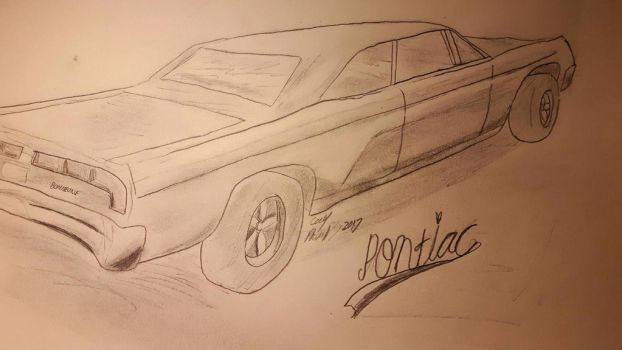 1967 Pontiac Bonneville  by TheFieroPegasus