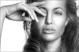 Angelina Jolie by ThomasMMadsen