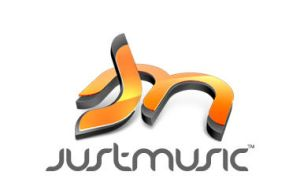 Justmusic logo by taytel